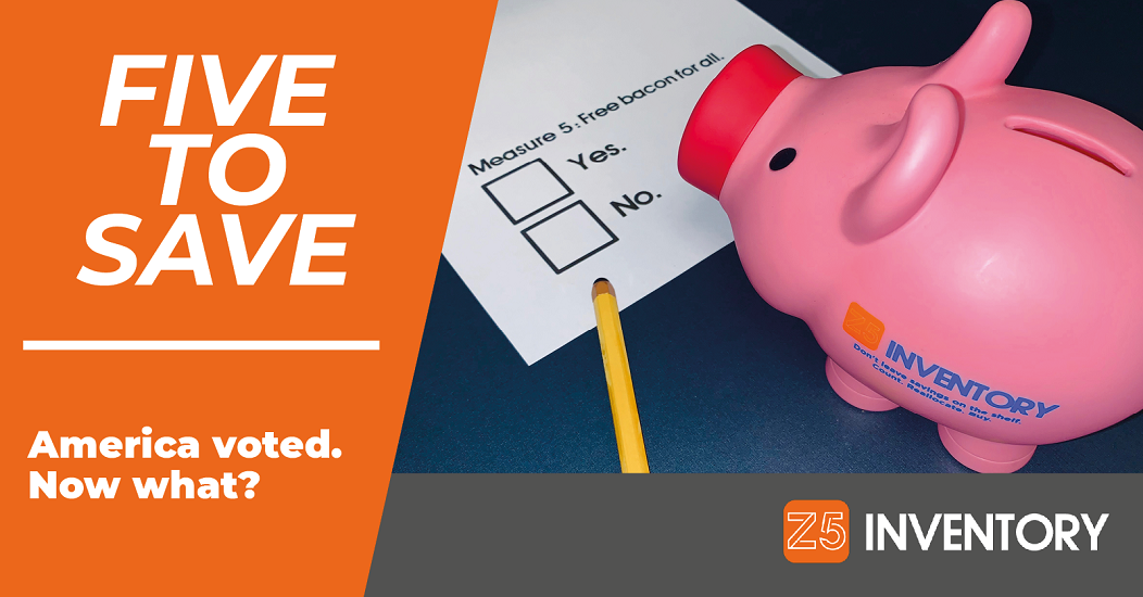 The Z5 Piggy Bank votes for bacon. Or against. It's hard to tell.