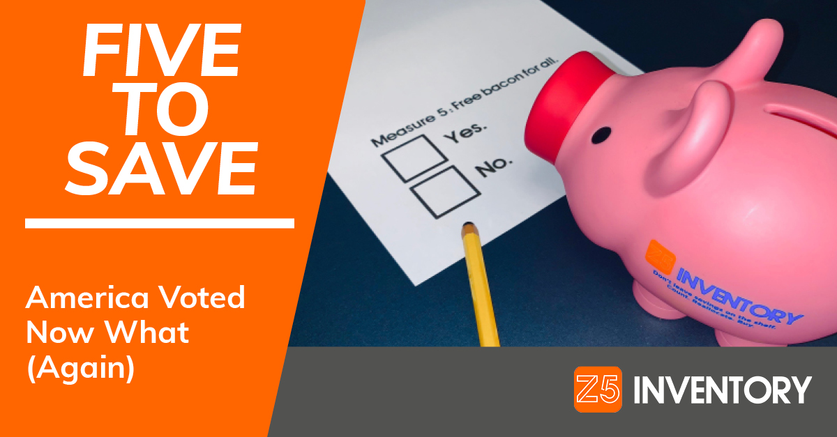 The Z5 Piggy Bank votes on a ballot for or against free bacon for all.