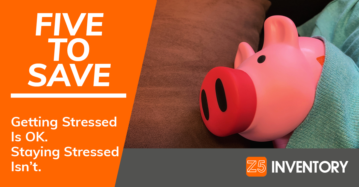 The Z5 Piggy Bank is a little stressed, just like everybody else in healthcare.