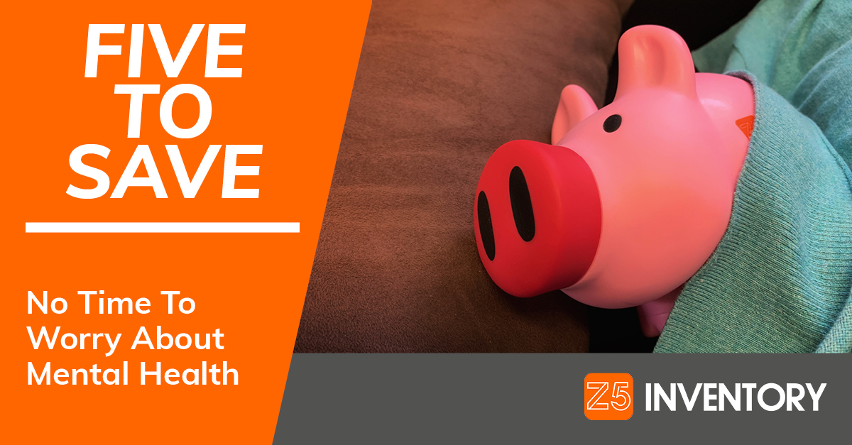 The Z5 Piggy Bank is taking a well-deserved nap to destress. And you should, too!