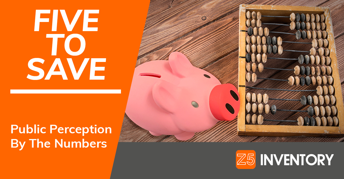 The Z5 Piggy Bank calculates public perception of pandemic poll results on an abacus.