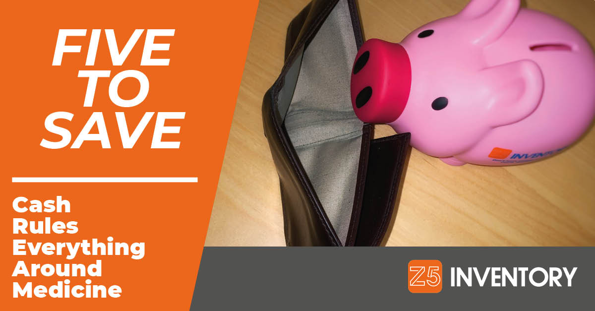 The Z5 Piggy Bank is sad about its empty wallet.