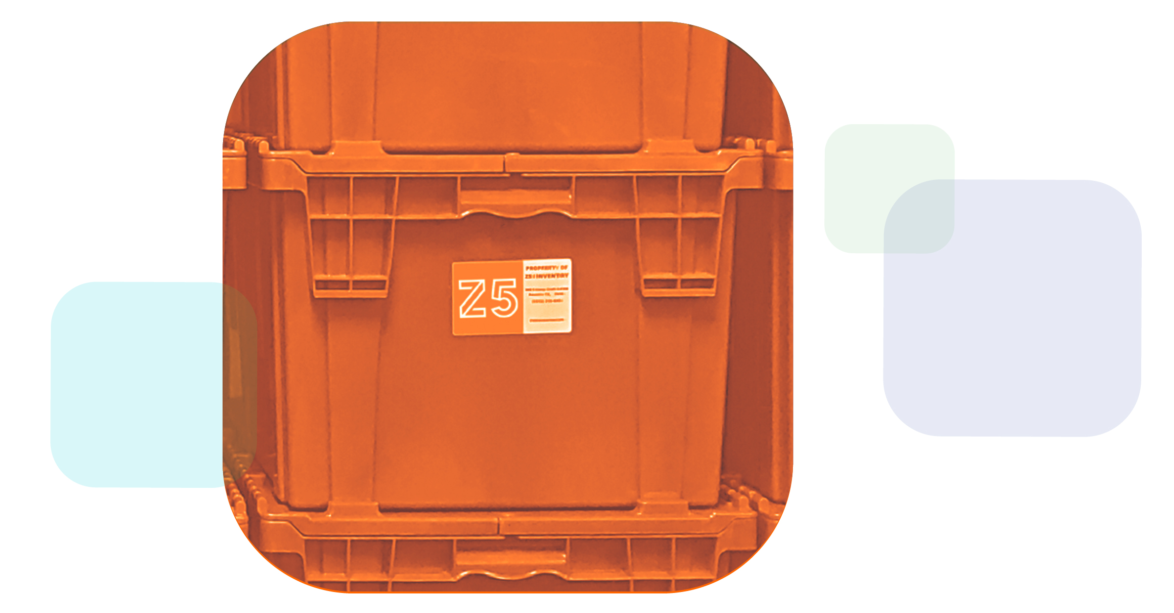Z5 Reallocate image with totes filled with medical supplies