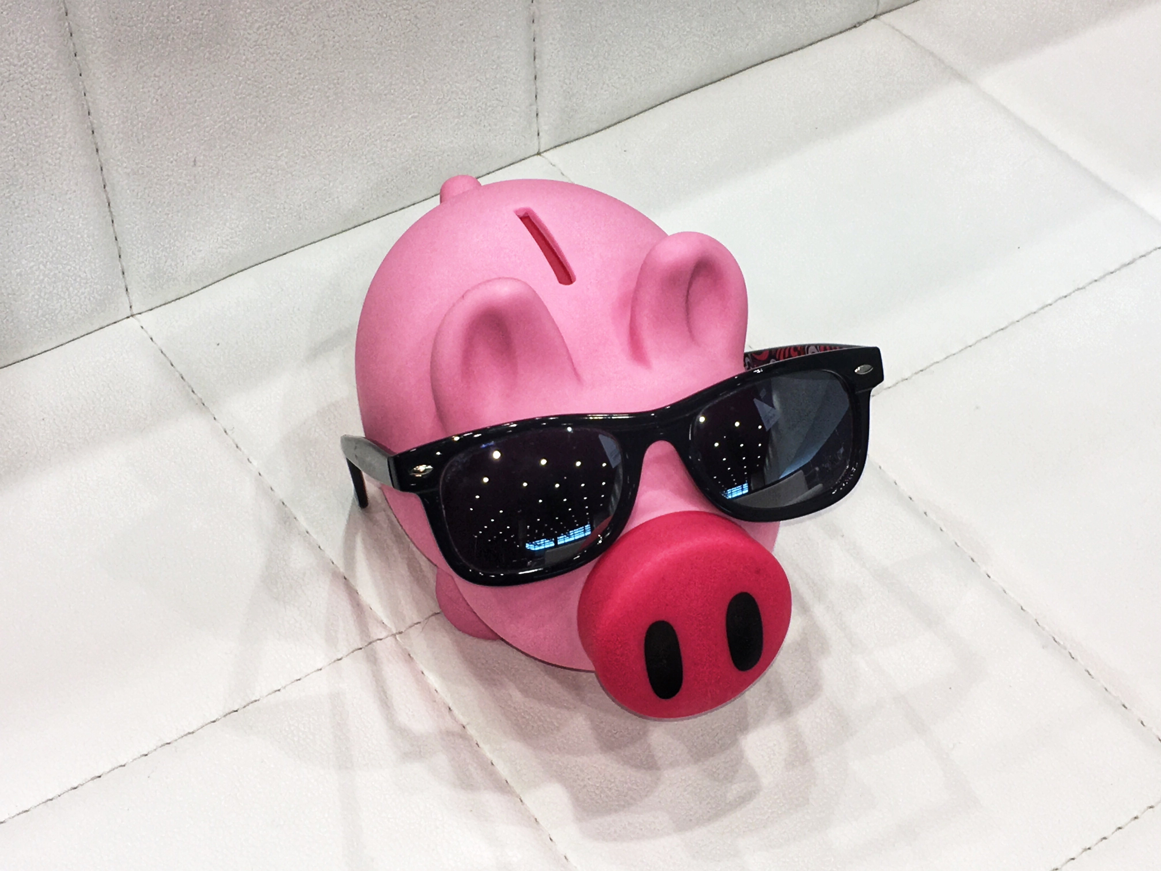 The Z5 Piggy Bank gets his Terminator on to talk about technology outpacing usage.