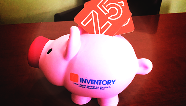 "The Z5 piggy bank says: ""Don't leave savings on the shelf!"""