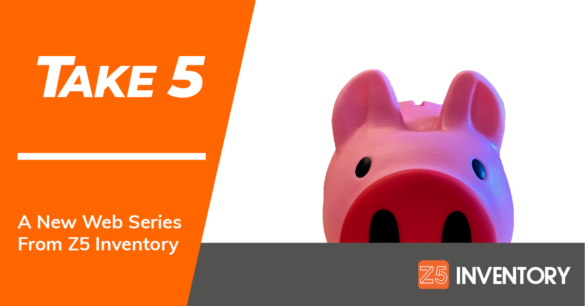 The Z5 Piggy Bank asks you to take 5 minutes to listen to our new podcast series.