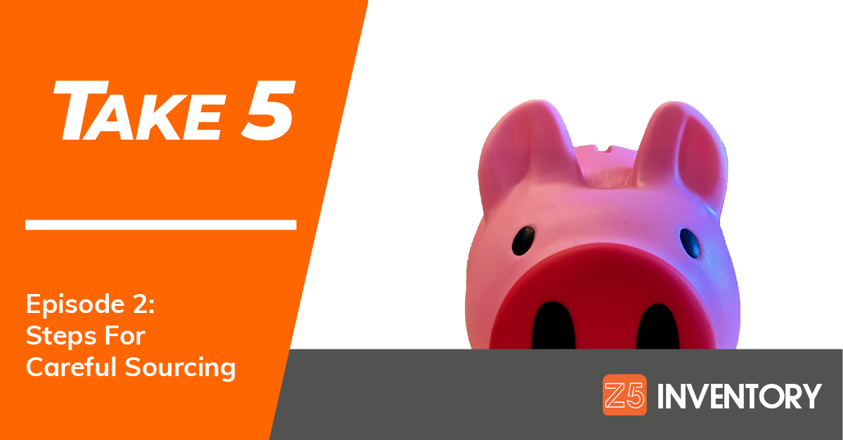The Z5 Piggy Bank once again welcomes you to the Take 5: An Inventory Series podcast.