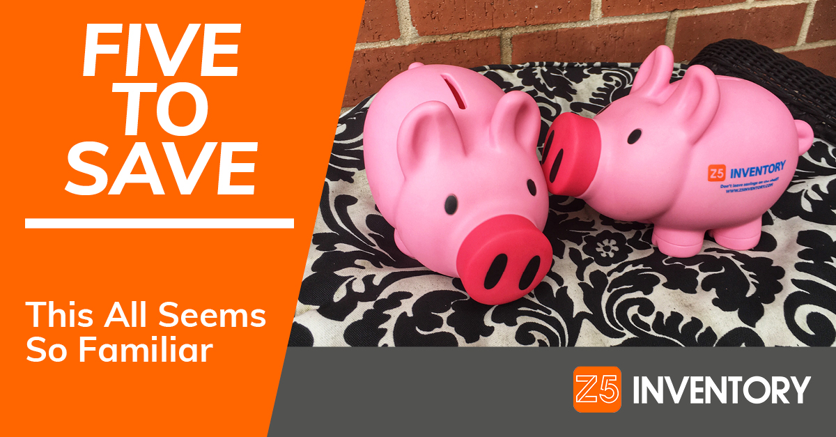 Are these piggy banks whispering or kissing? And why does this image seem so familiar?