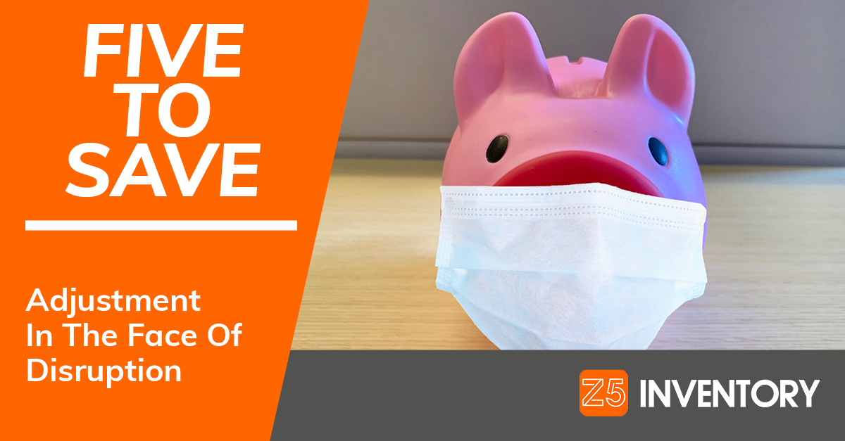 The Z5 Piggy Bank isn't really wearing a surgical mask, because that would be a waste of PPE supplies when they're needed most.