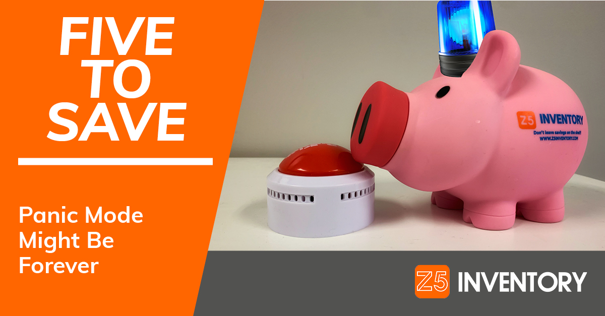 The Z5 Piggy Bank has a siren on its head and its snout on the panic button but isn't pressing it just yet. Even though we might just permanently be on panic mode now.