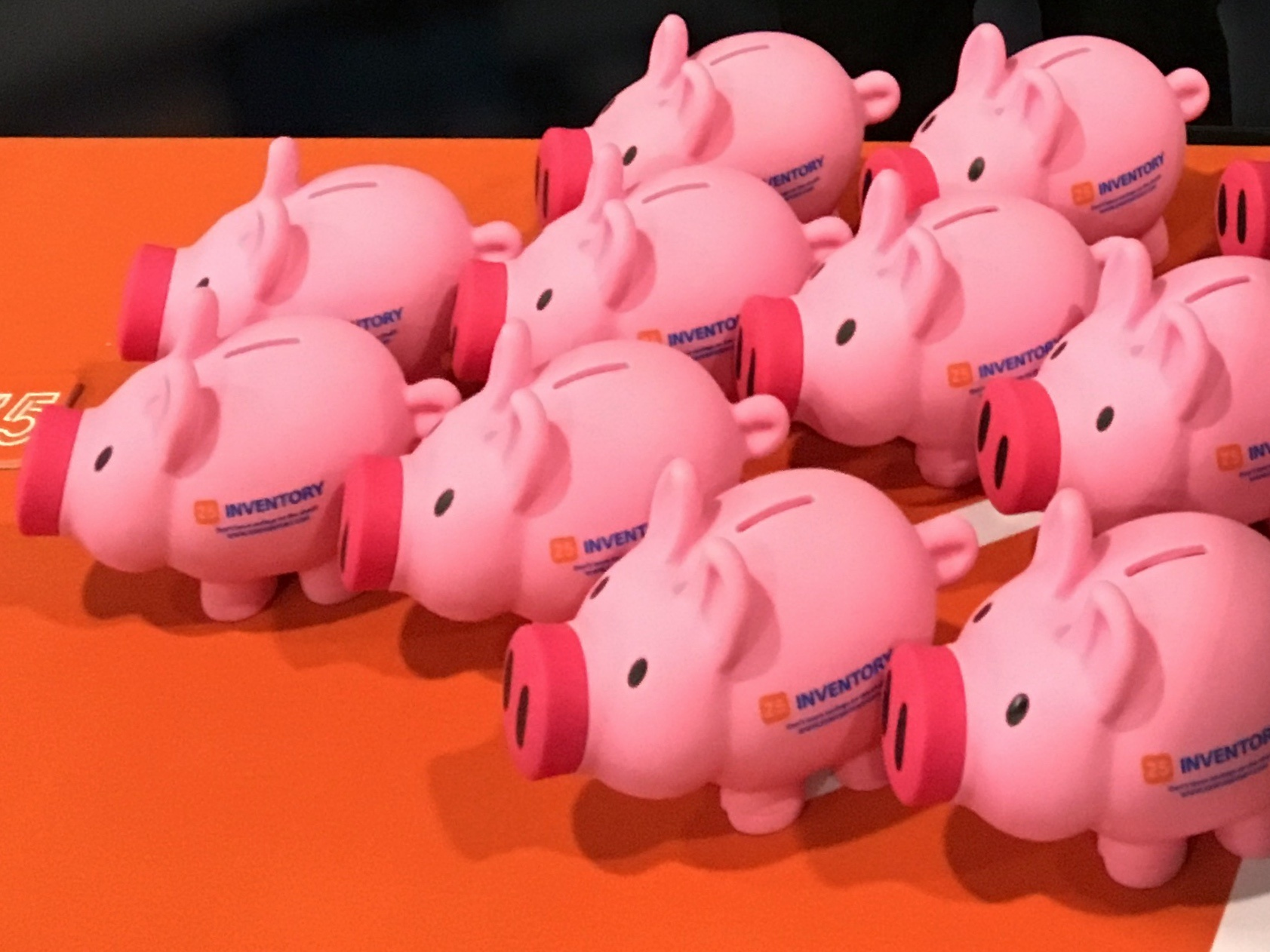 The Z5 Piggy Bank herd is moving out to AHRMM18!