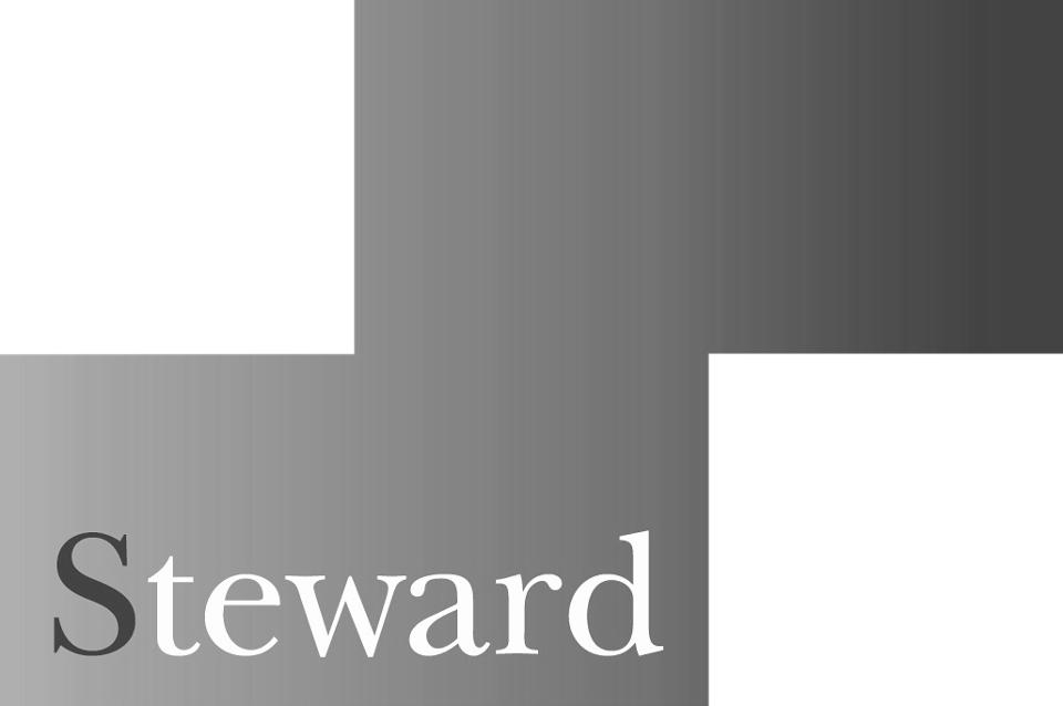 Steward logo - bw